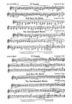 O Canada / God Save the Queen / Star-Spangled Banner: 3rd & 4th F Horns Sheet Music