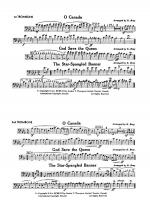 O Canada / God Save the Queen / Star-Spangled Banner: 1st Trombone Sheet Music