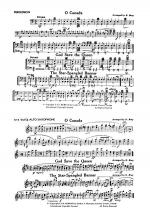 O Canada / God Save the Queen / Star-Spangled Banner: 1st Percussion Sheet Music