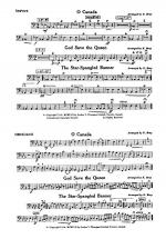 O Canada / God Save the Queen / Star-Spangled Banner: Timpani Sheet Music