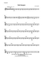 Sad Jacques: 3rd Violin (Viola [TC]) Sheet Music