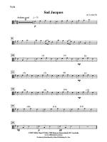 Sad Jacques: Viola Sheet Music