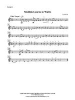 Matilda Learns to Waltz: 2nd Violin Sheet Music