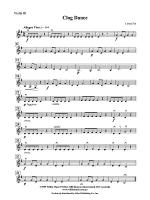 Clog Dance: 3rd Violin (Viola [TC]) Sheet Music
