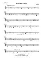 Celtic Meditation: 3rd Violin (Viola [TC]) Sheet Music