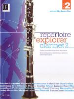 Repertoir Explorer - Clarinet Vol.2 Sheet Music