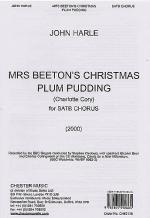 John Harle: Mrs Beeton's Christmas Plum Pudding Sheet Music