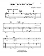Nights On Broadway Sheet Music