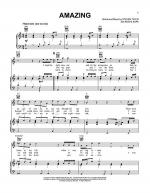 Amazing (It's Amazing) Sheet Music