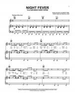 Night Fever Sheet Music