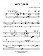 Spice Of Life Sheet Music
