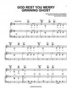 God Rest You Merry Grinning Ghost Sheet Music