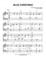 Blue Christmas Sheet Music