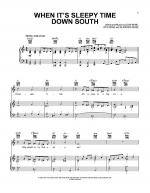 When It's Sleepy Time Down South Sheet Music