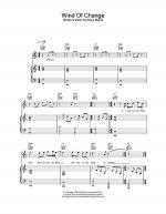 Wind Of Change Sheet Music