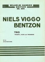 Niels Viggo Bentzon: Brass Trio Op.82 (Score) Sheet Music