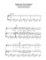 Tomorrow Never Knows Sheet Music