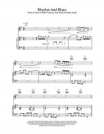 Rhythm And Blues Sheet Music