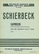 Poul Schierbeck: Capriccio For Wind Quintet Op.53 (Miniature Score) Sheet Music