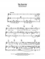 Big Spender Sheet Music