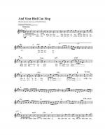 And Your Bird Can Sing Sheet Music