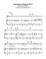 Alexander's Ragtime Band Sheet Music