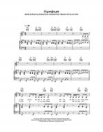 Humdrum Sheet Music