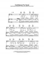 Confidence For Quiet Sheet Music