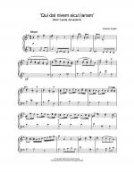 'Qui dat nivem sicut lanam' (from 'Lauda Jerusalem') Sheet Music
