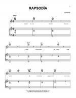 Rapsodia Sheet Music