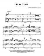 Play It Off Sheet Music