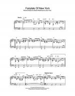 Fairytale Of New York Sheet Music