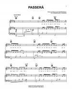 Passera Sheet Music