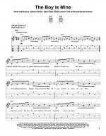 The Boy Is Mine Sheet Music