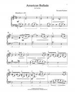 American Ballade Sheet Music