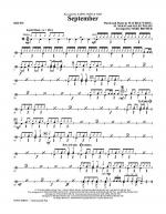 September - Drums Sheet Music