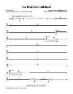 See Him Rise! Alleluia! - Percussion Sheet Music