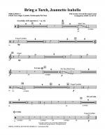 Bring a Torch, Jeanette Isabella - Percussion 1 Sheet Music