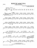 R.O.C.K. In The U.S.A. (A Salute To 60's Rock) - Drums Sheet Music