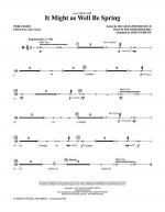 It Might As Well Be Spring - Percussion Sheet Music