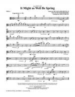 It Might As Well Be Spring - Viola Sheet Music