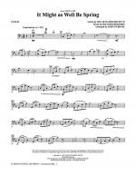 It Might As Well Be Spring - Cello Sheet Music