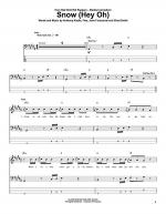 Snow (Hey Oh) Sheet Music