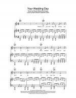 Your Wedding Day Sheet Music