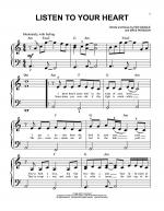 Listen To Your Heart Sheet Music
