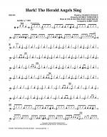 Hark! The Herald Angels Sing - Drums Sheet Music