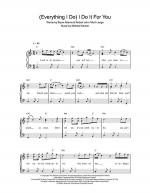 (Everything I Do) I Do It For You Sheet Music