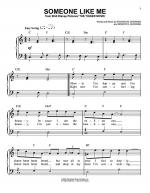 Someone Like Me Sheet Music