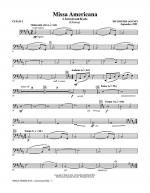 Missa Americana - Cello 2 Sheet Music