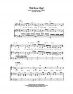 Rainbow High Sheet Music